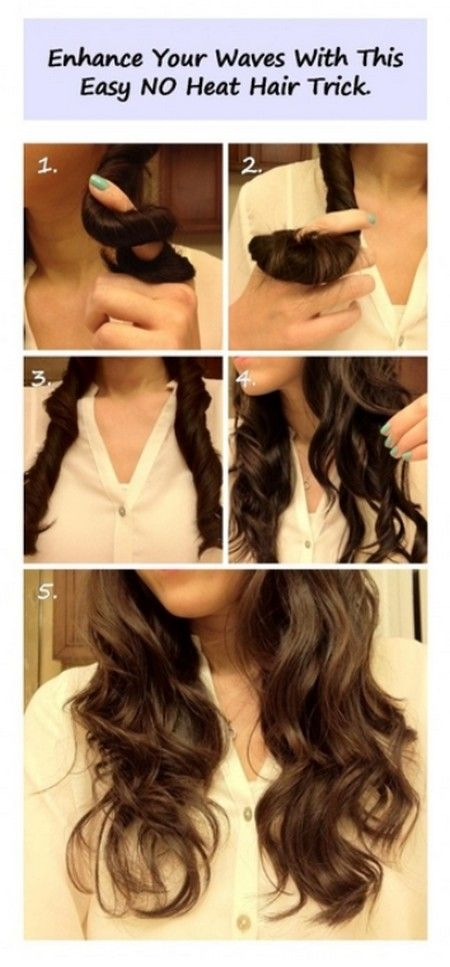 no heat hair styles 136 best images about and simple hairstyles on 4690 | 1c9f4ab3ab5ddc4fde1995188fd67810 no heat waves no heat curl