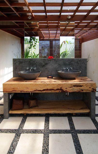 River Rock Granite Bathroom Sink approx 450 mm x 400 mm x 150 mm