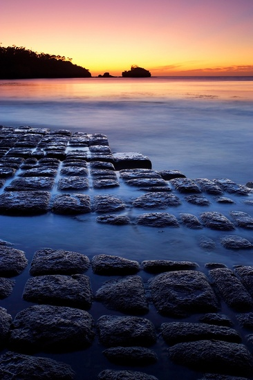 Bread Loaf Tessellations, Tasmania #landscape #photography