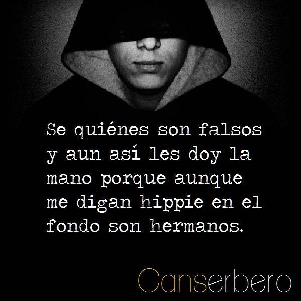 Frases de Cancerbero para Whatsapp. Imágenes con pensamientos y citas del rapero venezolano Daniel Nuñez Hernandez alias el Can.