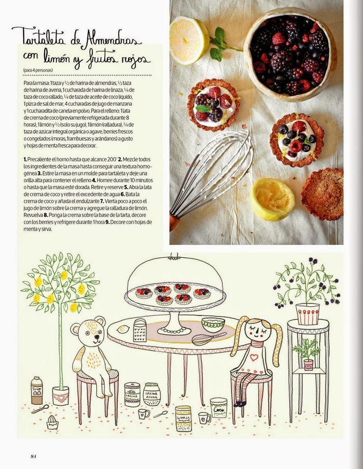 Tarta dulde por Cositas Ricas Ilustradas por Pati Aguilera