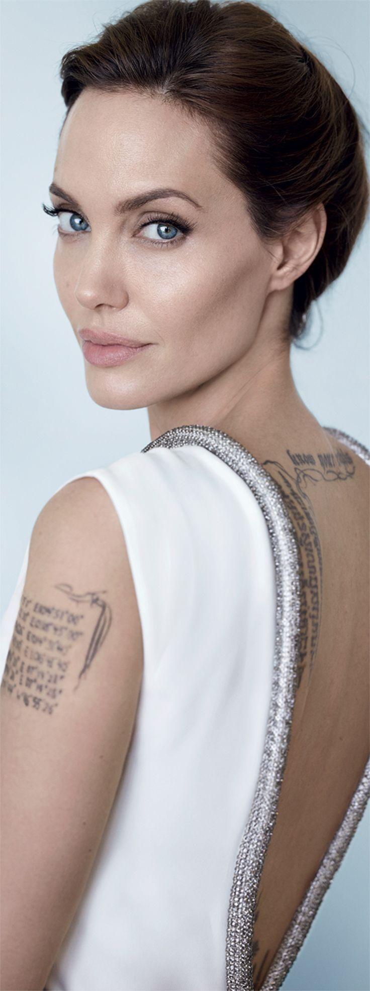 Angelina Jolie by Mario Testino - Vanity Fair December 2014