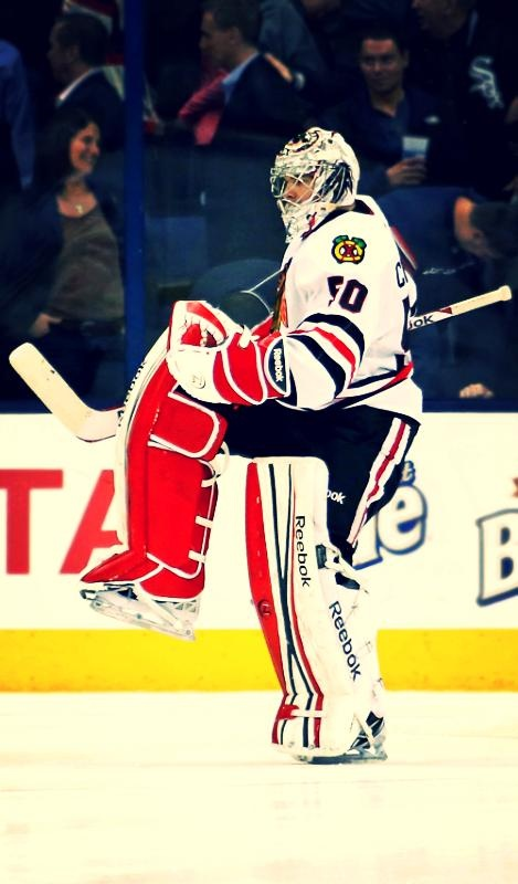 Corey tends to be a bit reserved, which I love about him, so his little celebration after last night's game was great. *Adorbs*