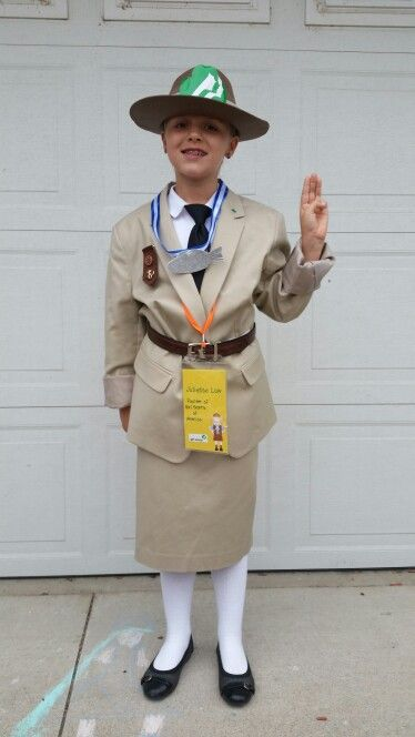 Juliette Low Costume Founder Of Girl Scouts Of America
