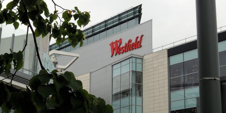 Westfield er et enormt shoppingsenter hvor du finner alt og alle