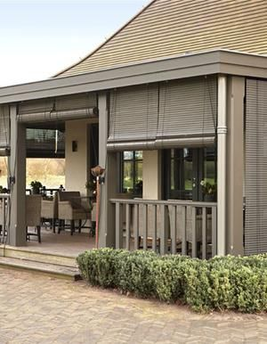 Bekijk de foto van margopos met als titel ook leuk zo'n hekje langs de veranda en andere inspirerende plaatjes op Welke.nl.