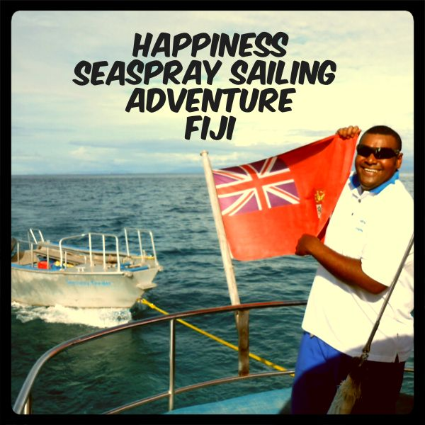 Find happiness on a Seaspray Sailing Adventure with Awesome Adventures Fiji