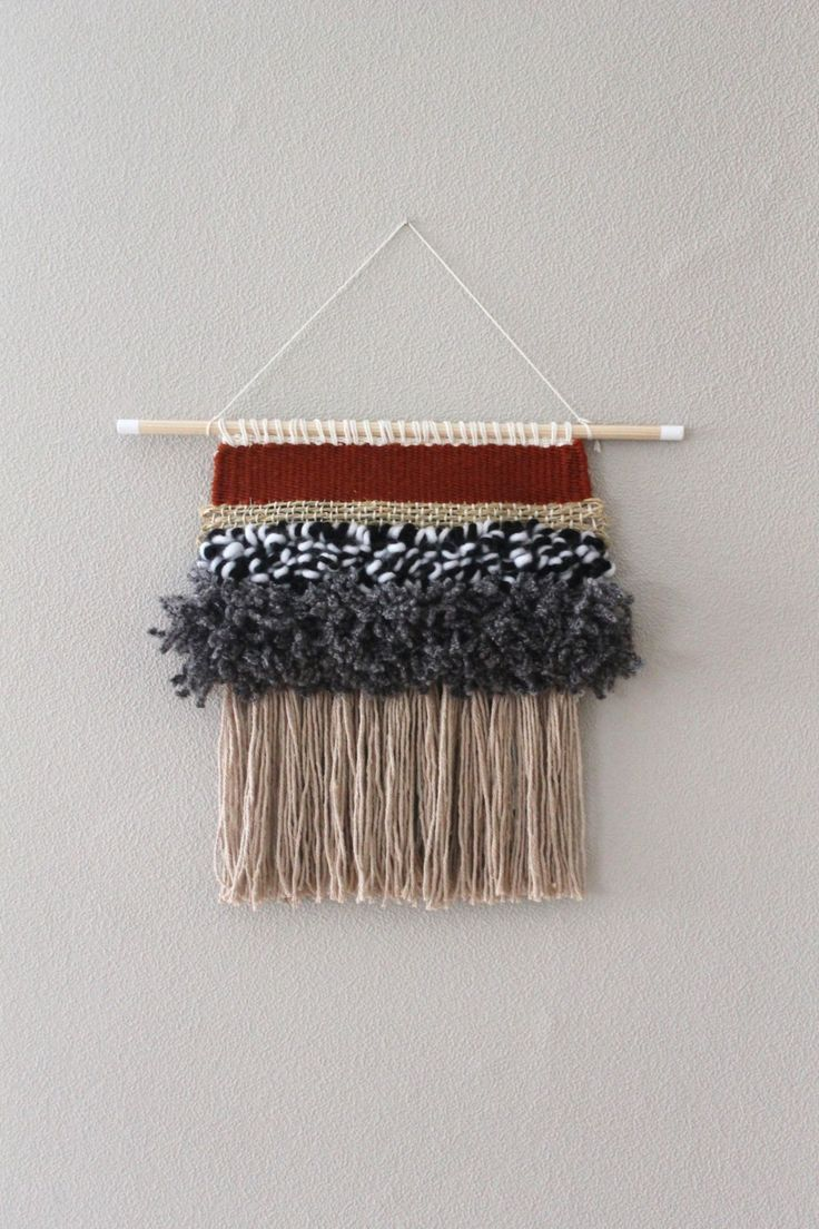 Woven Wall Hanging 8 by nimwitstudio on Etsy
