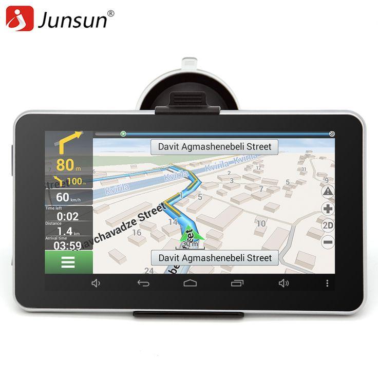 7 inch Car GPS Navigation Android Bluetooth WIFI Russia Navitel/Europe map Truck Vehicle gps Navigator sat nav Built 16GB