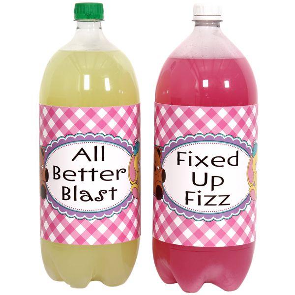 soda labels