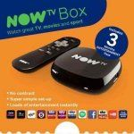 NOW TV Box with 3 month entertainment pass 15.00 Sainsburys