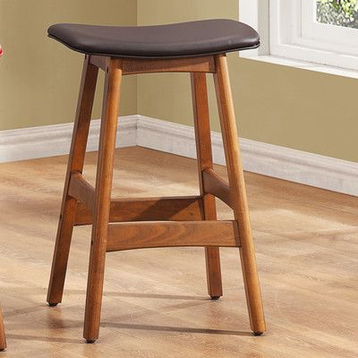 Woodhaven Hill 24'' Bar Stool with Cushion & Reviews | Wayfair.ca