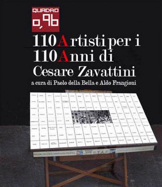 """Invito """"110 artisti per i 110 anni di Cesare Zavattini"""" a Fiesole"""