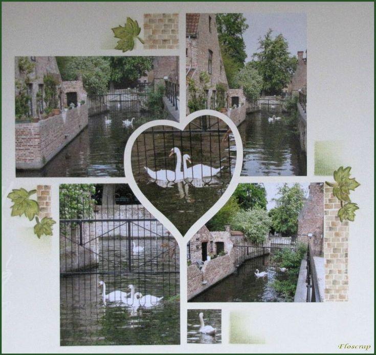 1007 - Photo de Bruges et ses envrons,mai 2010 - Flopassionscrap