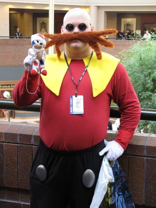 Sonic Halloween Costume