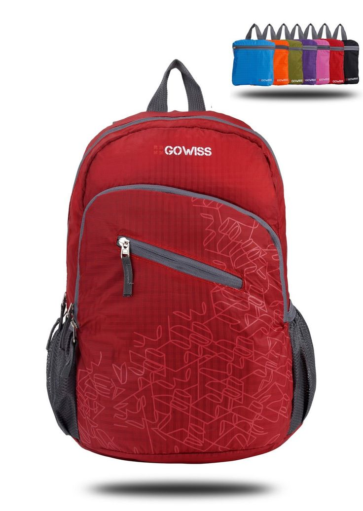 ($4.98 FBA Product) Gowiss 20L Lightweight Travel Backpack – (Many Color Option)