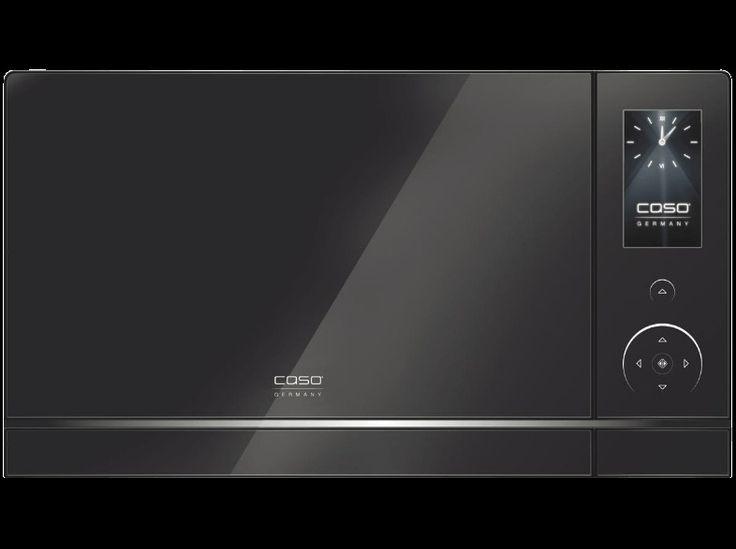 Mikrowelle Caso MLG 23 Touch Black - 900 Watt / Grill - neuwertig
