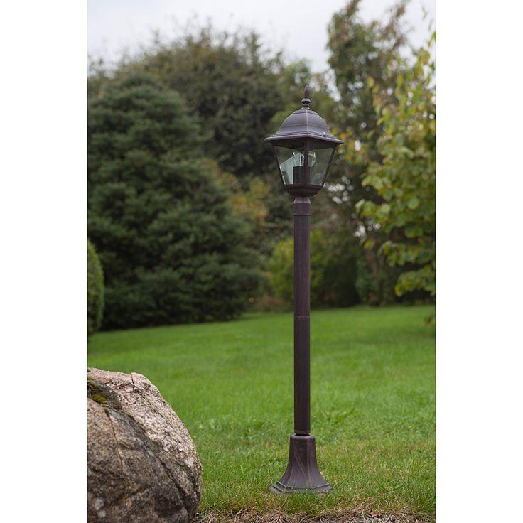 Buitenlamp Sally - metaal/glas - zwart - 1 lichtbron