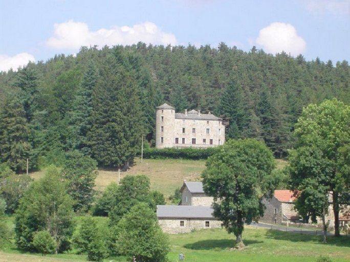achat vente Château a vendre en position dominante Saint Agrève, 1h30 de Lyon ARDECHE RHONE ALPES