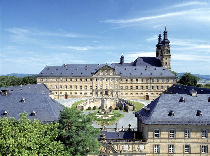 "Bad Staffelstein (Bayern) - Abbey / Kloster / Abbaye ""Banz"""