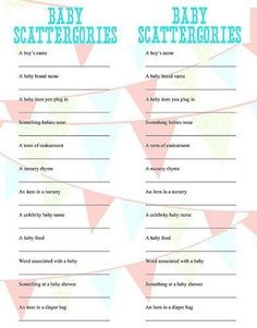 crazy baby shower games mindless quizzes just for fun