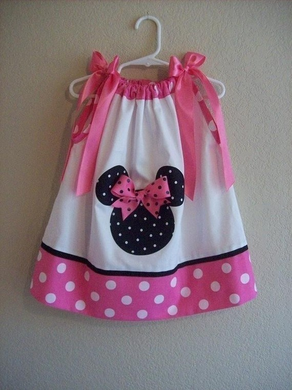 Minnie Mouse Pillow Case Dress (For cece) & 141 best Sewing-Pillowcase Dresses images on Pinterest   Pillow ... pillowsntoast.com