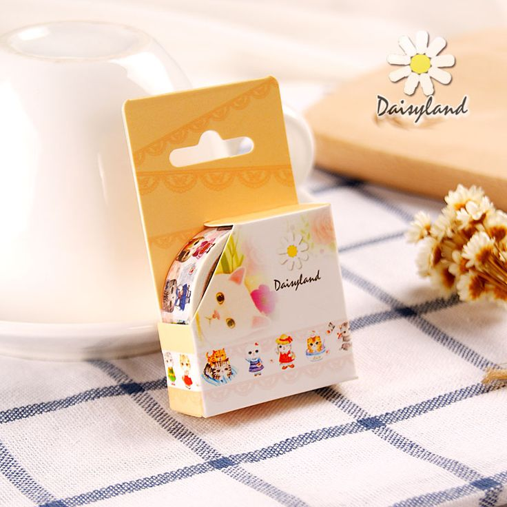 Find More Office Adhesive Tape Information about DIY Cute Kawaii Cartoon Washi Tape Lovely Cat Decorative Masking Tape For Home Decoration Kids Gift Free Shipping 3417 14,High Quality tape top,China tape meter Suppliers, Cheap mask decoration from World of Stamp and Tape on Aliexpress.com