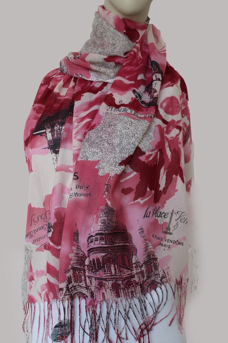 Digital cotton hijab Code : SQ3007-Pink  As istanbul