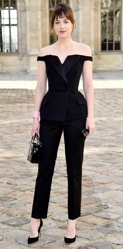 Look of the Day - March 09, 2015 - Dakota Johnson in Dior from #InStyle