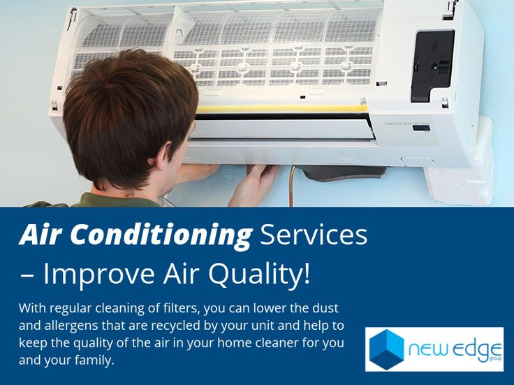 Air Conditioning Services – Improve Air Quality! - With regular cleaning of filters, you can lower the dust and allergens that are recycled by your unit and help to keep the quality of the air in your home cleaner for you and your family.