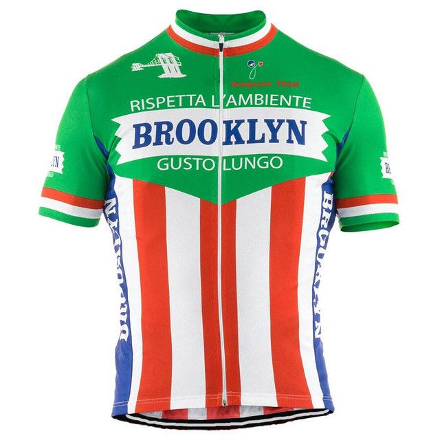 Retro Brooklyn Chewing Gum Cycling Jersey