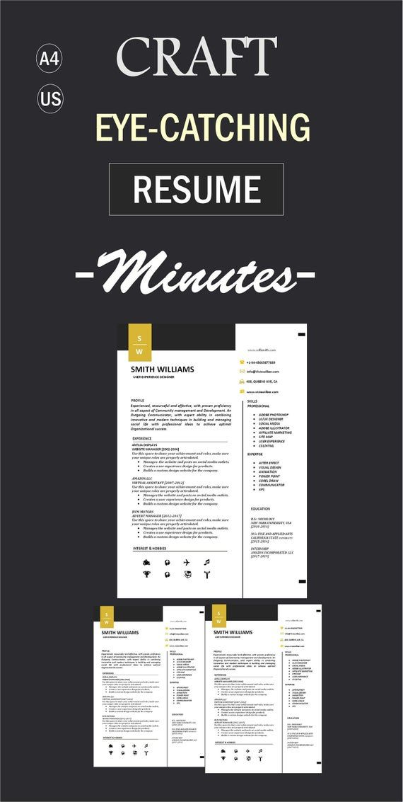 Ats Resume Template Cv Word Cover Letter Resume Format Etsy Cv Words Cover Letter For Resume Resume Template