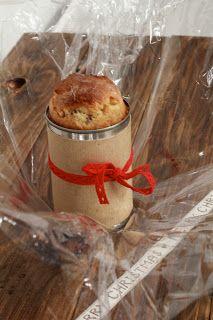 On dine chez Nanou: Pannetone individuel à offrir, cuit dans une boite de conserve