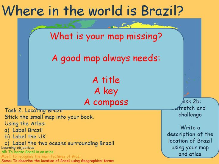 Use these resources on the geography and features of Brazil as part of a wider topic on the World Cup.