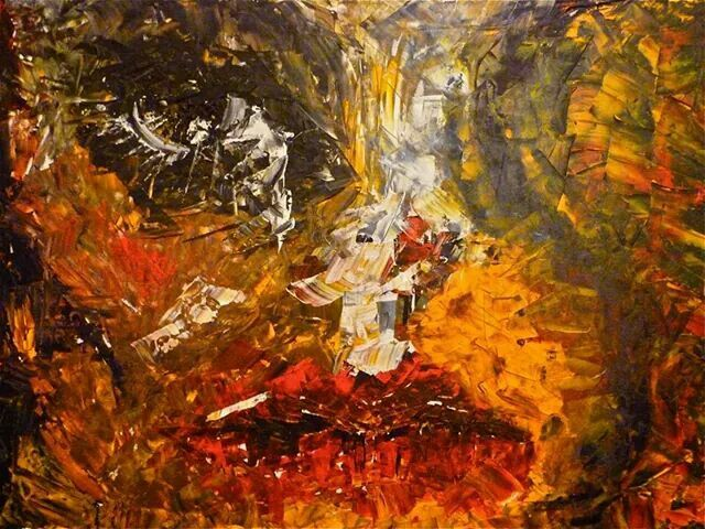 Acrílico sobre lienzo. 65 x 90 cm. 2014.