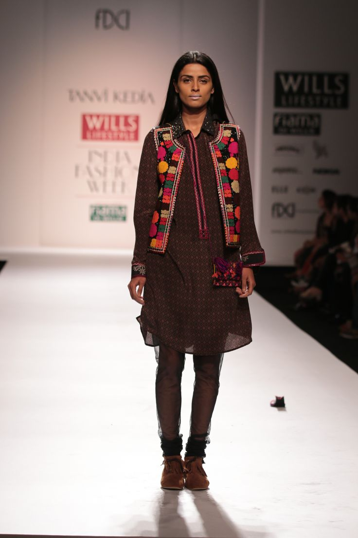 #wifw #wifwaw14 #fdci #wilfw #TanviKedia #indian #indiandesigner #fashion #clothes #accessories #ramp #runway #fashionshow