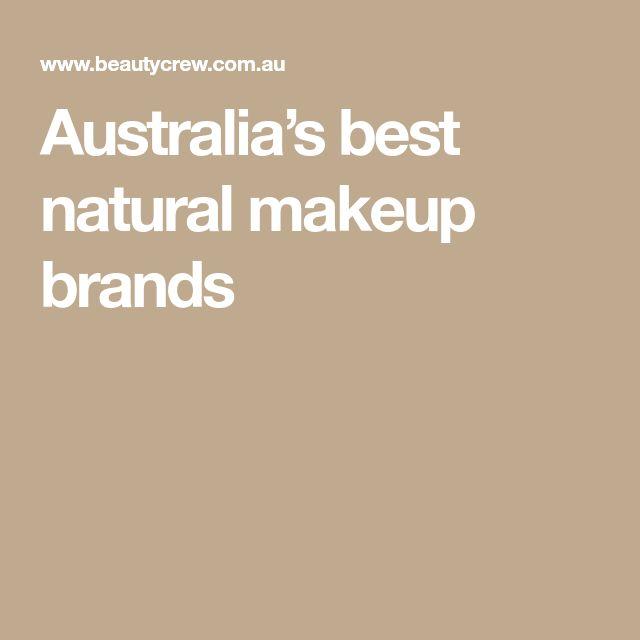 Australia's best natural makeup brands