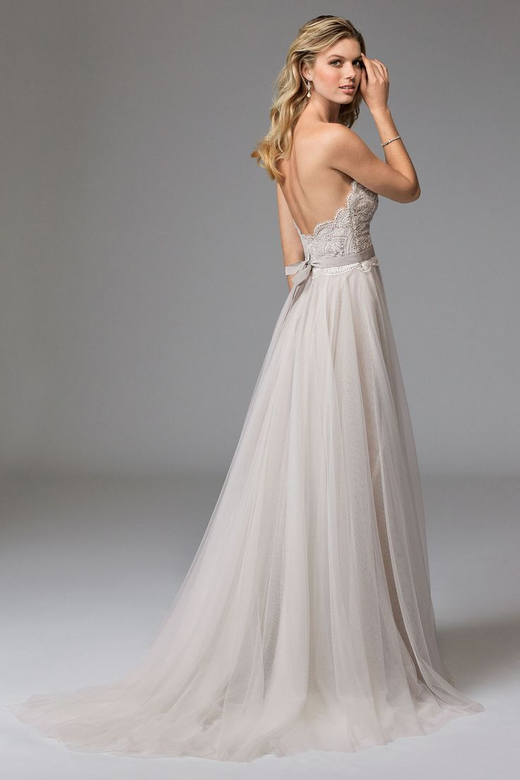 @watterswtoo Wtoo Style 17711B Della Wedding Gown