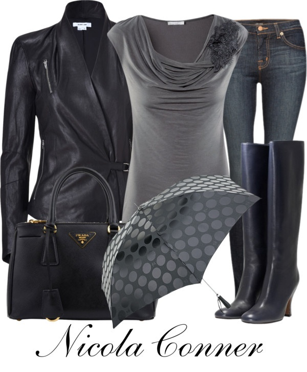 """Umbrella"" by nicola-conner ❤ liked on Polyvore"