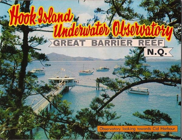 1970's poster promoting Hook Island