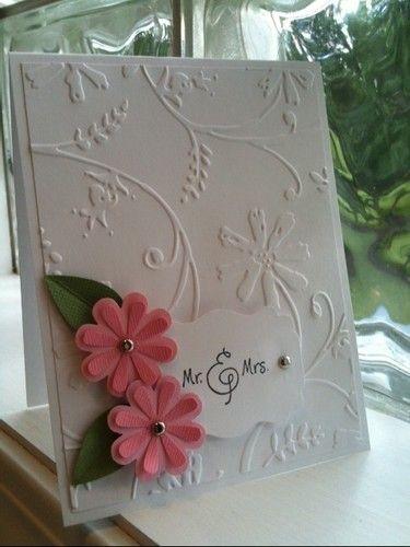 Cuttlebug Embossing Folder Stylized Flowers