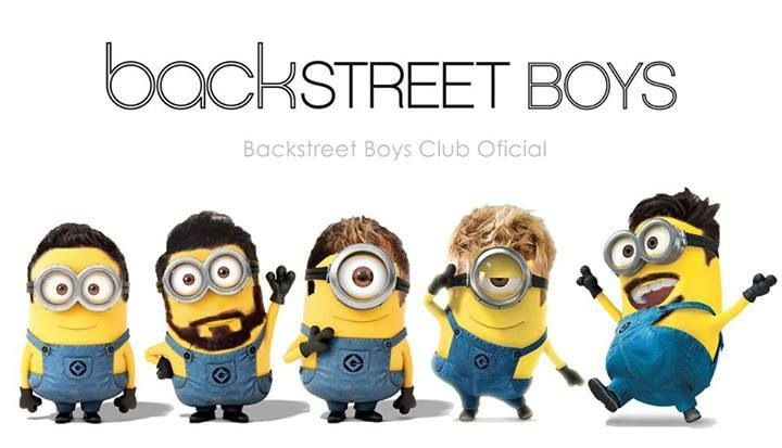Minion Backstreet Boys!