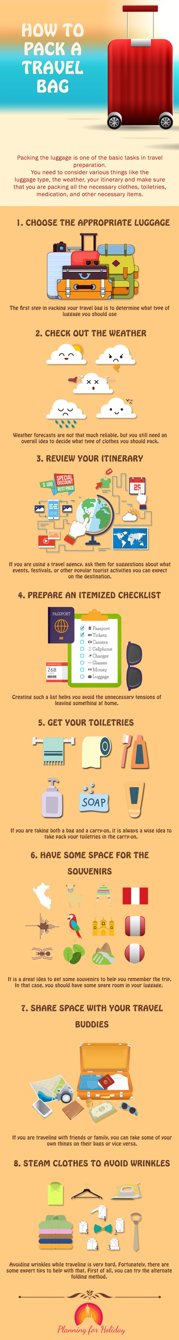 #Packing the luggage is one of the basic tasks in #travel preparation. Want to follow the best practices of packing for travel? Check out these 8 techniques that will help you pack your travel bag. Missing any of these might ruin your whole #trip. #TravelGuide #Traveling #TravelDestinations #vacation