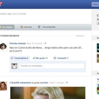 PSD Gratis: Facebook redesign