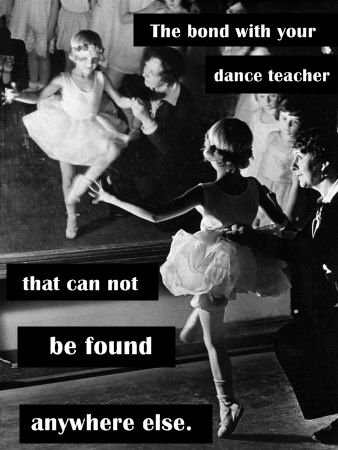 If only i could change this to say ballet teacher.....