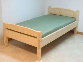 Bed Plans; easy to build, require minimal equipment, and use regular 2x4 construction lumber, they correspond to the four standard mattress sizes used in North America, plans for twin, standard double (full), queen, king, and bunk beds, plus plans for day beds and fancier head and foot boards for double standard (full) and queen #DaybedWoodworkingPlans