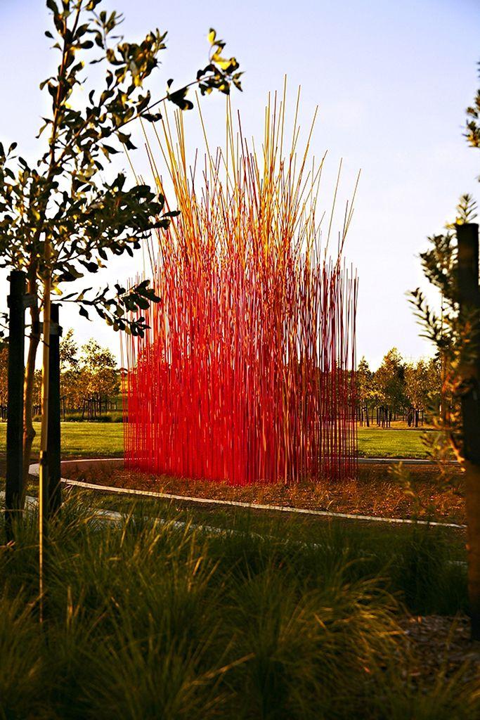 Konstantin Dimopoulos Colour Field Melbourne, Australia 7 x 5.5 x 3m  |  23 x 18 x 10ft high-performance composites, paint
