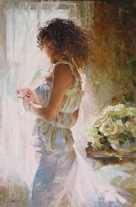 Waiting for Love - Michael and Inessa Garmash - World-Wide-Art.com - $775.00 #Garmash
