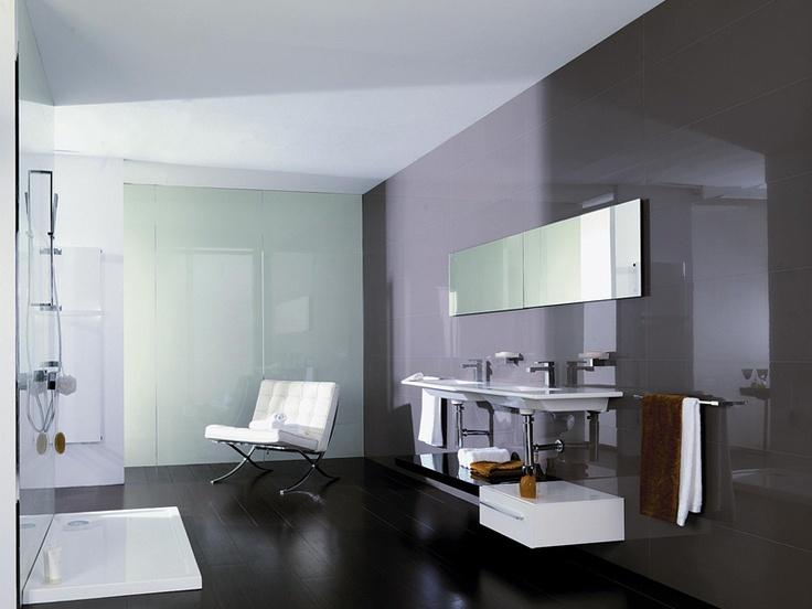 Venis 'Crystal Moka'  and 'Crystal Acid' Tile | High Gloss Mirror-like Tile | Ceramo