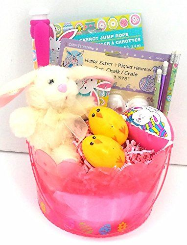 Lum lum 7 pinterest easter gift basket 8 pc pink private label http negle Images